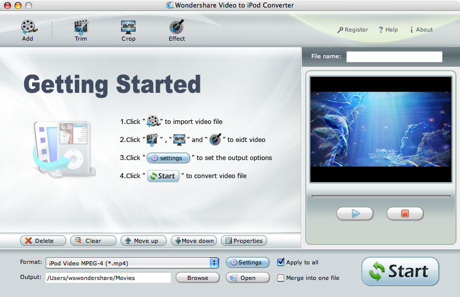 Mac iPod Video Converter